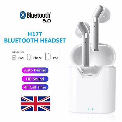 Twins Wireless Bluetooth 5.0 TWS Stereo Ear Pods Earbuds Earphones Headphones