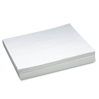 Pacon Skip-a-line Ruled Newsprint Paper 30 Lbs. 11 X 8-12 White 500 Sheetspack