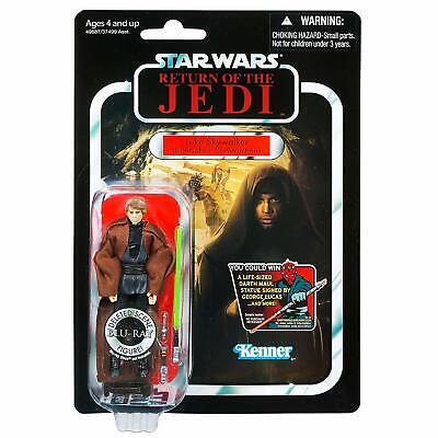 Star Wars Luke Lightsaber Construction 3.75 Inch Figure VC87 Damage Card Vintage (Luke Lightsaber Toy)
