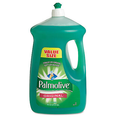 Palmolive Dishwashing Liquid Original Scent Green 90oz Bottle 4/Carton 46157