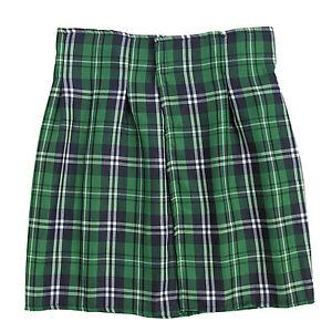 St Patricks Day Green Striped Plaid Kilt HALLOWEEN COSTUME DRESS UP UNISEX