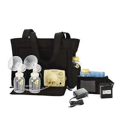 Medela in Style Adv On the Go Tote Double Electric Breast Pump +BONUS extra Pump