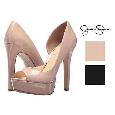 Jessica Simpson Martella d'Orsay Peep-Toe Platform (Jessica Simpson Peep Toe Pumps)