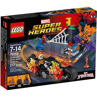 LEGO Marvel Super Hereos 76058 Spiderman Ghost Rider Team-up, NEW, RETIRED