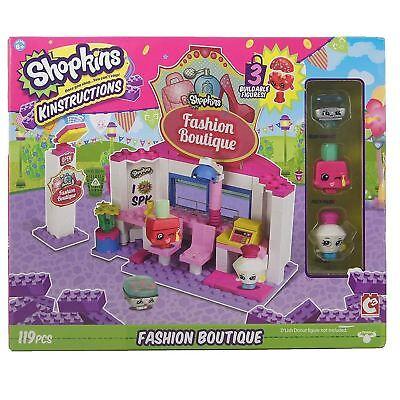 Shopkins Kinstructions Toy Shopping Pack Fashion Boutique Building Set