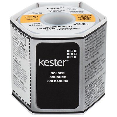 Kester 24-6040-0053 Solder Roll 66 Core Size 0.050 Diameter