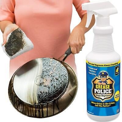 Grease Police As Seen On Tv Clean Scent Cleaner And Degrease