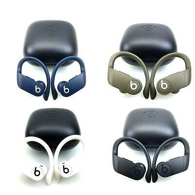Beats by Dre Powerbeats Pro Wireless Bluetooth Headphones Ivory/Blue/Black/Moss