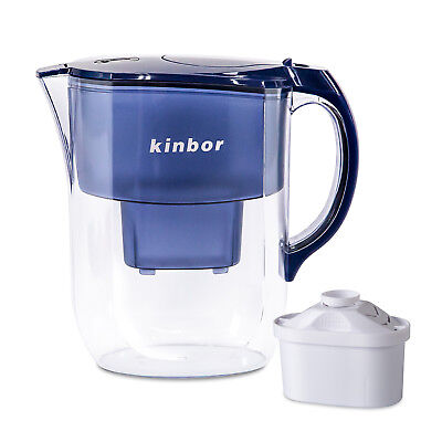 (Kinbor Cool 4L Purification Fridge brita Water Filter Jug Pitcher Clean Drinking)