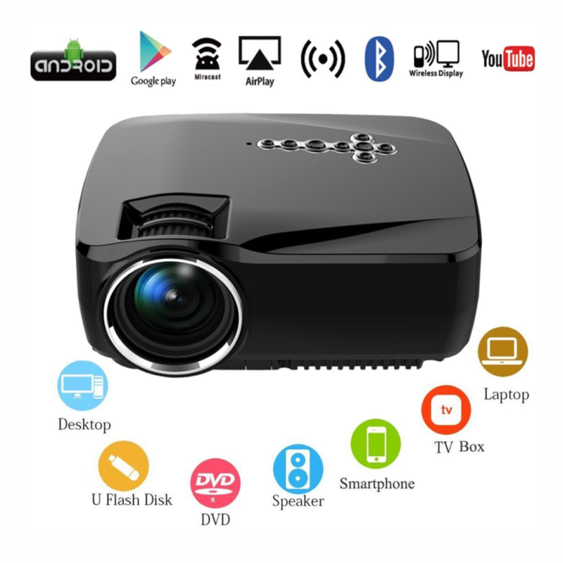 led home theater mini android ... Image 1