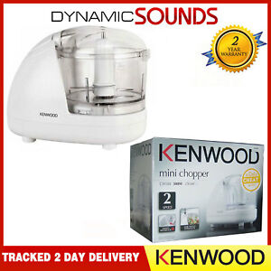 Kenwood CH180 Electric Mini Chopper 2 Speed Food Processor White 300W - New