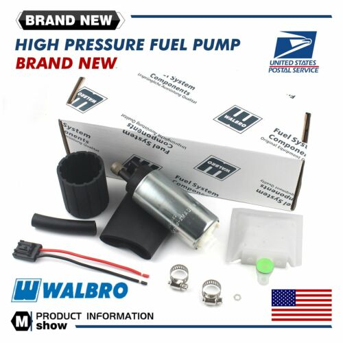 Walbro GSS342 255LPH High Pressure PSI Intake Racing Fuel Pump- Universal NEW US