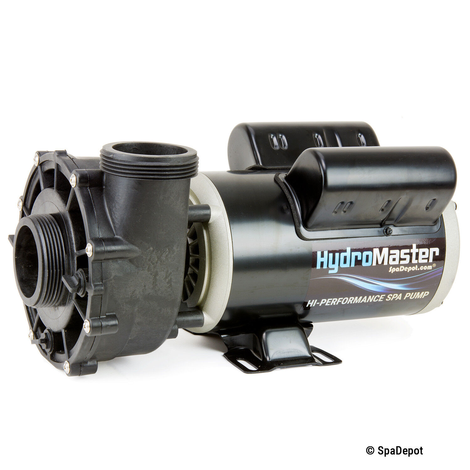 """1.5 HP HydroMaster Hot Tub Spa Pump 2""""in/out 48 Frame 2-Spee"""