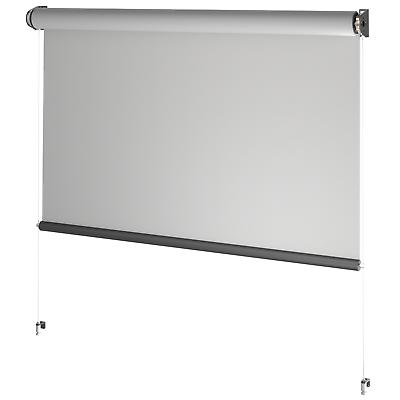 premium Stoffrollo Senkrechtmarkise Aussenrollo für Innen bis 4m | Außen bis 3m
