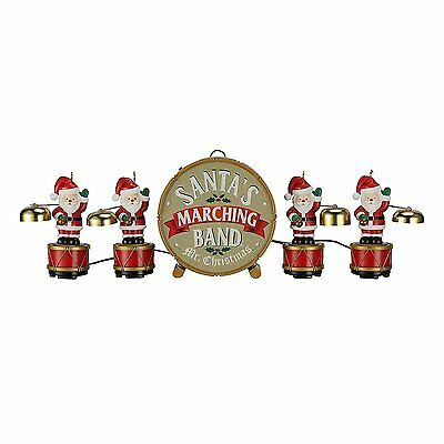 Mr. Christmas 2016 Animated Santa's Marching Merge #23604