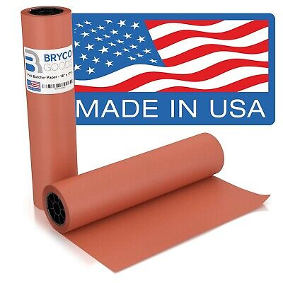 Pink Kraft Butcher Paper Roll - 18 Inch x 175 Feet (2100 Inch) - Food Grade P...