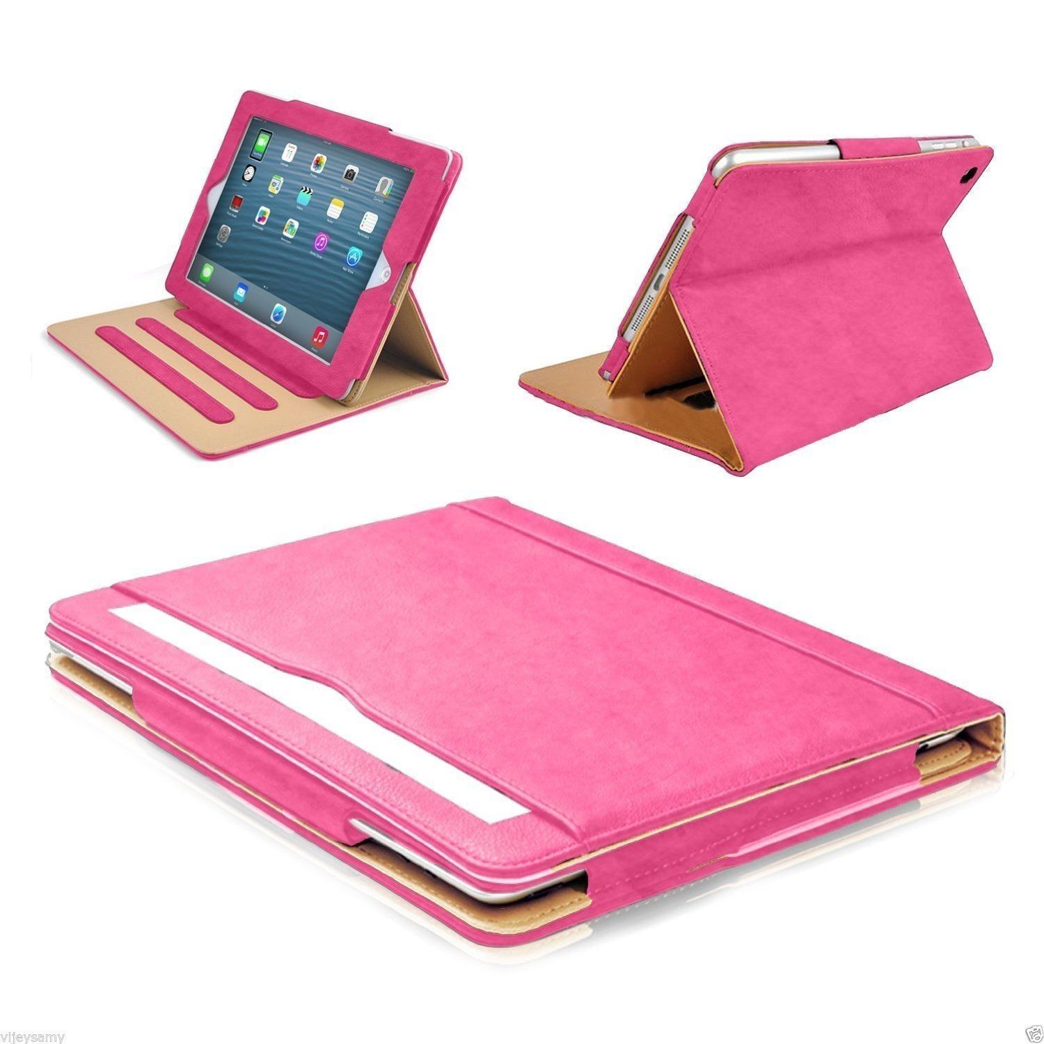 New Soft Leather Smart Case Cover Sleep Wake Stand for APPLE iPad 9.7 6th 5th