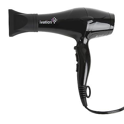 Ivation Ceramic Hair Blow Dryer Professional Powerful Turbo Blower 1875 Watts
