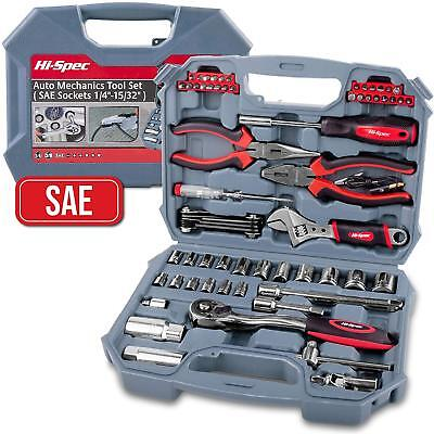 Car Auto Mechanics Hand Tools Kit Set - Professional ALL YOU NEEDED IN ONE CASE