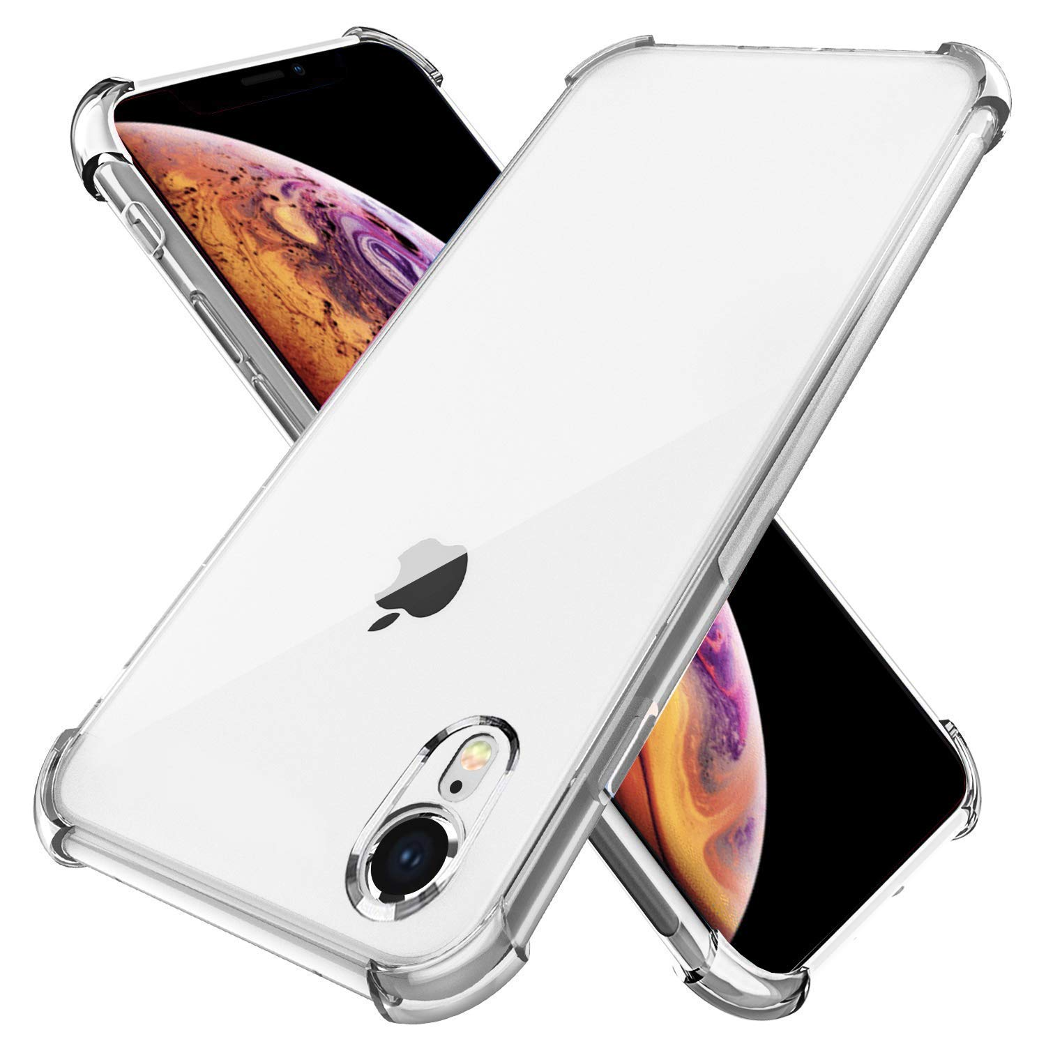 ***NEW Transparent Silicone Shockproof TPU Bumper Case Cover For iPhone XR NEW** Cases, Covers & Skins