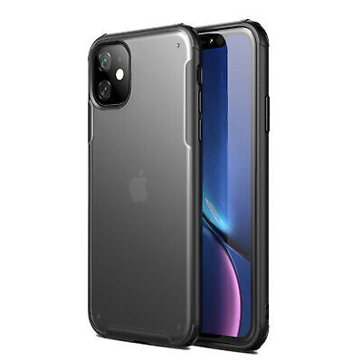 For iPhone 11,11 Pro, 11 Pro Max Clear Hybrid Shockproof Slim Thin Case Cover
