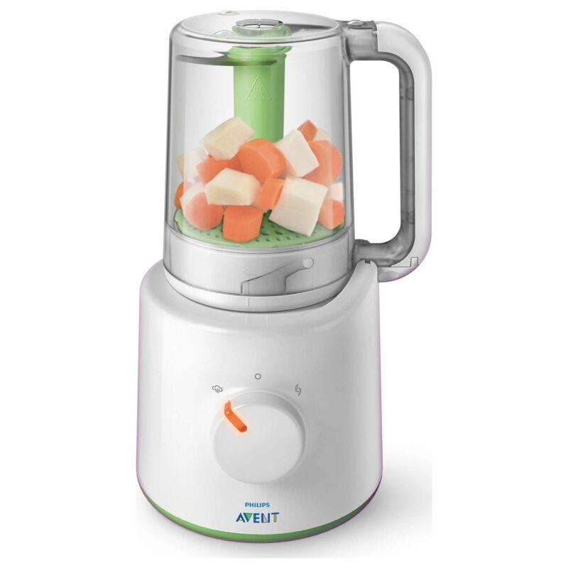 Philips Avent Healthy Baby Food Juice Maker Steamer Blender Sfc870 22 Scf870 Ebay