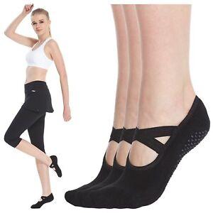 Yoga Socks for Women Non Skid Socks with Grips Barre Socks Pilates Socks