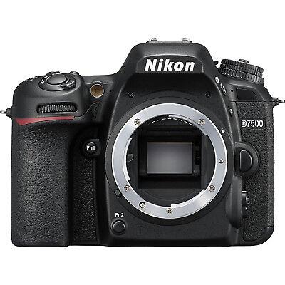Nikon D7500 Wi-Fi 4K HD Digital SLR Camera Body