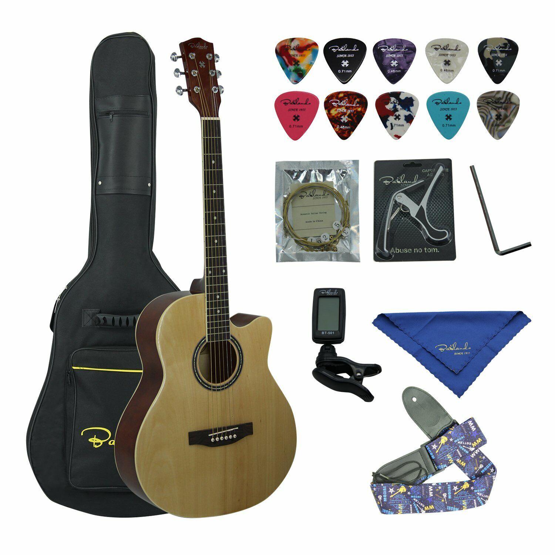 """40"""" Acoustic Cutaway Guitar"""