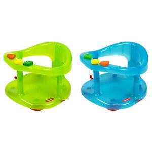Seggiolino bambini per la vasca da bagno bagnetto con ventose keter vari colori ebay - Seggiolino per vasca da bagno ...