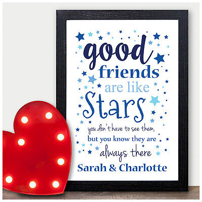 PERSONALISED Gifts for Best Friend Birthday Presents for Her She BFF