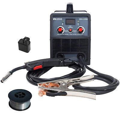 Mig-130a 130 Amp Flux Cored Gas-less Mig Welder 110230v Welding Soldering