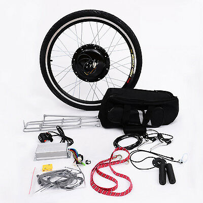 "26""  Electric Bike Bicycle Motor Conversion Kit eBike Rear Wheel 48V 1000W"