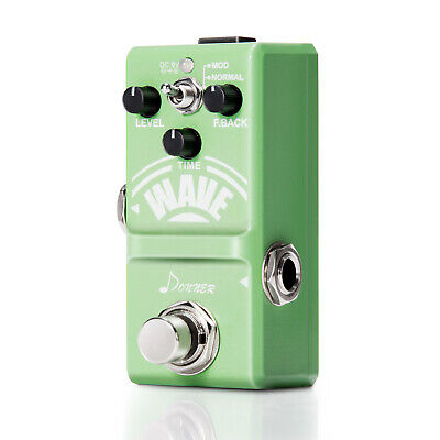 Best Quality Donner Wave Analog Delay Guitar Effect Pedal Super Mini Pedal