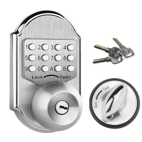 Digital Push Button Door Lock Key Pad Code Mechanical Combination Keyless Access
