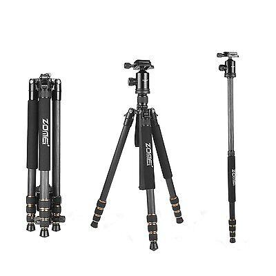 ZOMEI Z688C Carbon Fiber Tripod Monopod&Ball Head for Canon Nikon DSLR camera