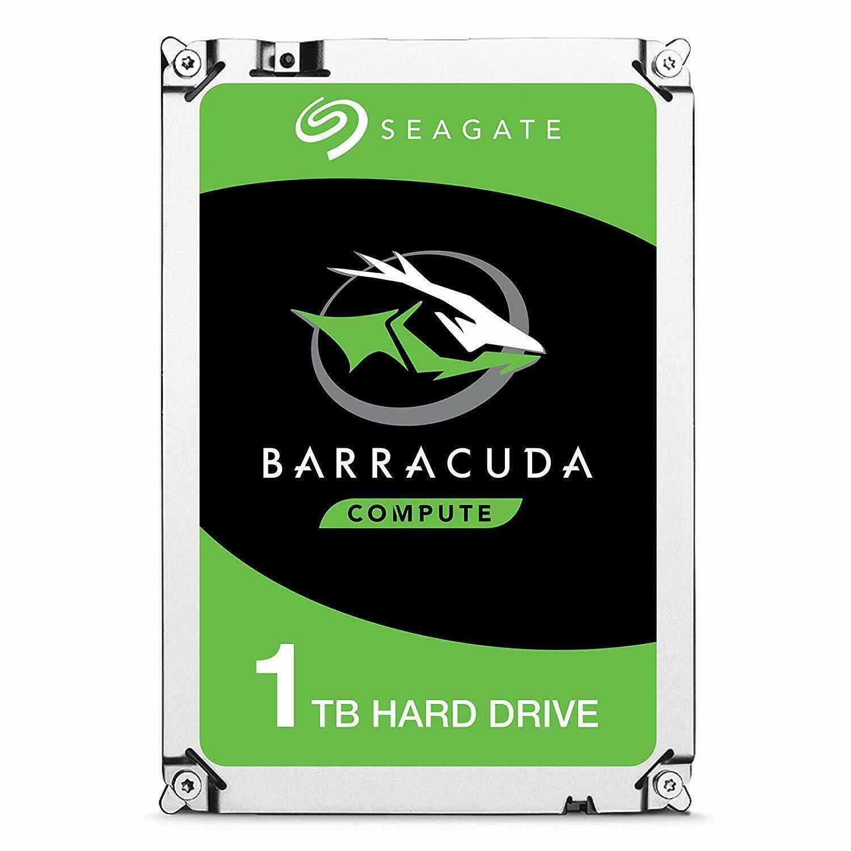1TB 3.5 Zoll interne HDD Festplatte Seagate BarraCuda 1000GB SATAIII 7200 64MB