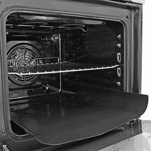 2 x Large Non Stick Oven Liner Reusable Teflon Dishwasher Safe Baking Spill Mat