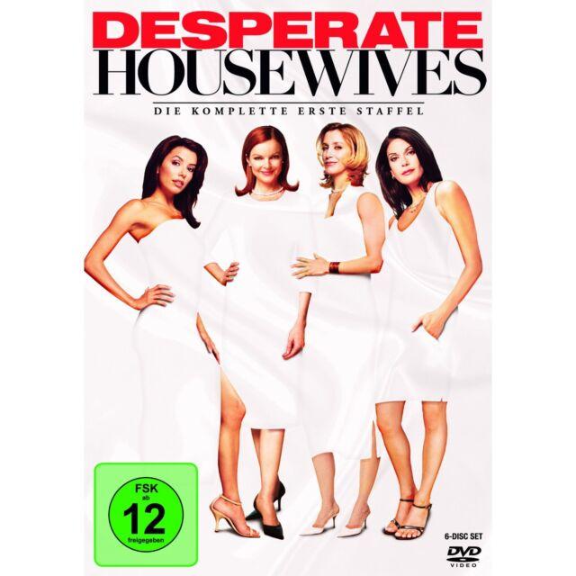 Desperate Housewives Komplette 1.Staffel  FSK 12 Neu+in Folie 6 DvD,s @L1@