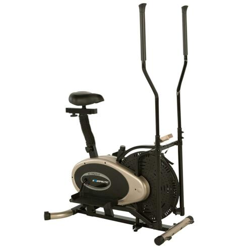 Exerpeutic GOLD Elliptical and Exercise Bike Dual Trainer 4305