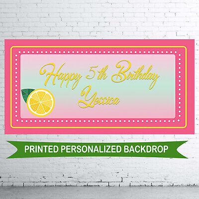 Pink Lemonade Birthday Party (18