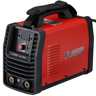 Sf-160a 160 Amp Stick Arc Dc Welder 110v 230v Dual Voltage Welding Machine