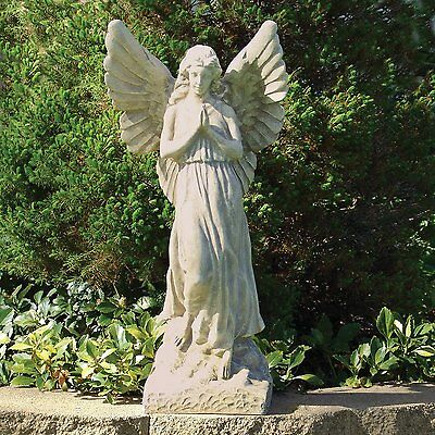 """Champion Angel Form Carving Garden Yard Patio Old folks' Lawn Outside Decor 23"""""""