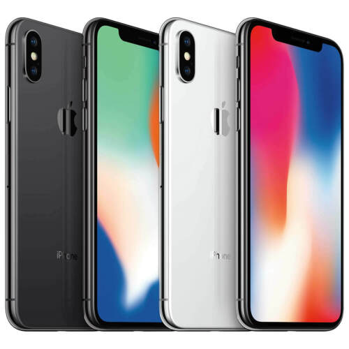 iPhone X (10) 64GB/256GB Apple Mobile Smartphone iOS WiFi Factory Unlocked Cell Phones & Accessories