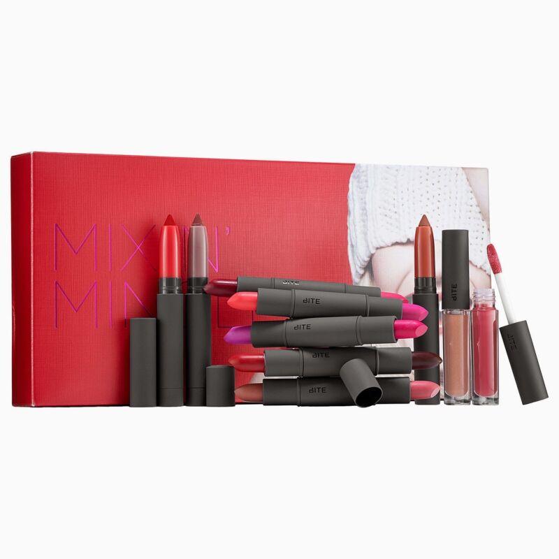 Bite Beauty Mix n Mingle Collectors Edition 10 Pcs Luminous Creme Lipstick &More