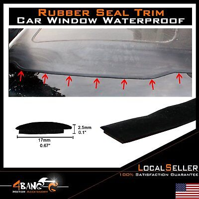 Car Truck Parts Rubber Seal Windshield Sunroof Guard Strip Trim Accessories 12ft