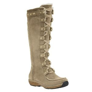 timberland earthkeepers granby boots - tall zip suede (for women)