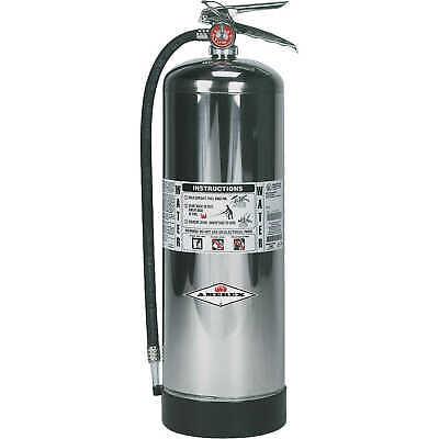 Amerex Water Stored Pressure Fire Extinguisher Model 2402-12 Gal.hose