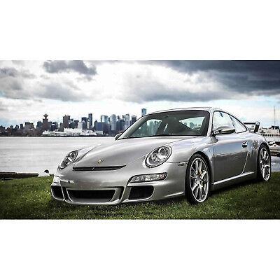 - KBD Body Kits GT 3 Look Polyurethane Front Bumper Fits Porsche 997 / 991 05-09