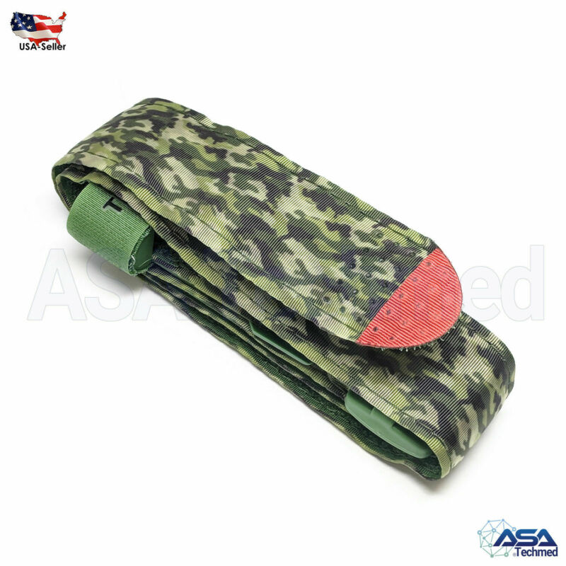 Tourniquet Rapid One Hand Application Emergency Or Outdoor Green/jungle Green